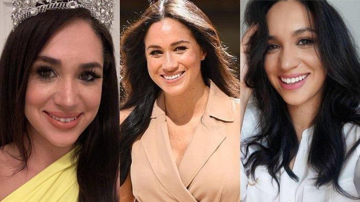 SOSOK Christine Primrose Mathis, Pramugari Cantik Disebut Kembaran Megan Markle Istri Pangeran Harry