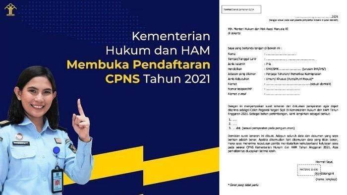 CPNS Kemenkumham  2021 diperuntukkan bagi lulusan SMA sederajat, D3, S1, S2 hingga Dokter Umum. Ini dokumen yang perlu disiapkan