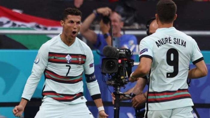 TOP SKOR Euro 2020: Cristiano Ronaldo Berada di Puncak Klasemen Sementara Pencetak Gol Terbanyak