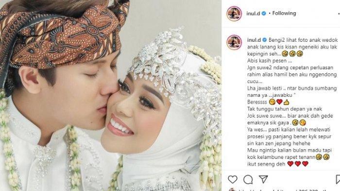 Inul Daratista Singgung Soal Idola, Kaget Pengakuan Lesty dan Rizky Billar Segera Miliki Momongan