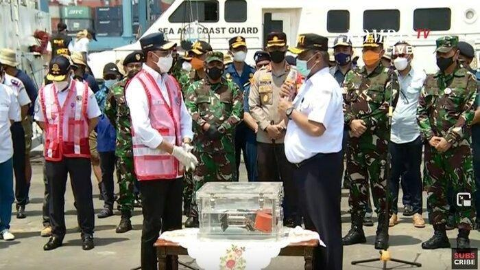 UPDATE Penemuan CVR Sriwijaya Air SJ 182: Pakai Kapal Penyedot Lumpur, akan Dilakukan Transkrip Data