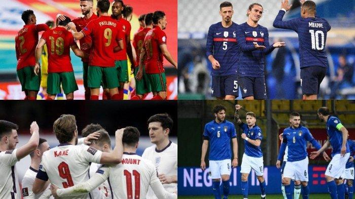DAFTAR Negara Peserta Euro 2020 Terkuat Calon Juara Eropa, Diisi Wajah Lama Prancis hingga Portugal
