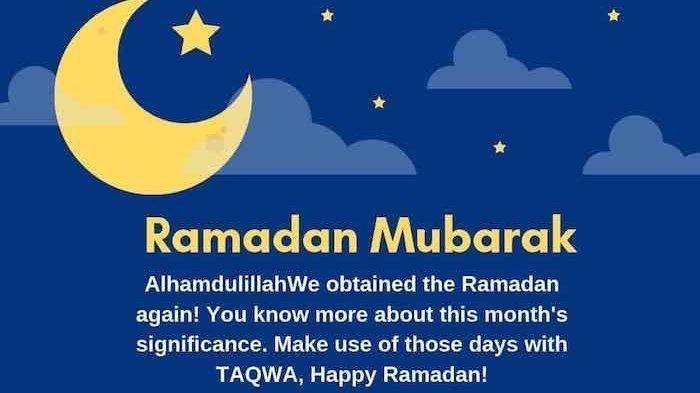 50 Ucapan Maaf & Selamat Puasa Ramadhan 1442 H / 2021, Tinggal Copas Sebarkan & Siap Update Status