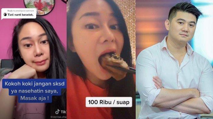 Cara Makan Sushi Disindir Chef Arnold, Denise Chariesta Geram: Kurang Job? Enak Kan Pansos sama Gue?