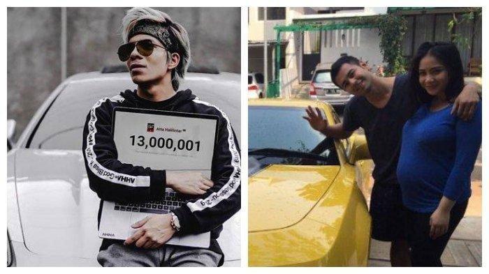 Tajir Melintir, 5 Artis Ini Hobi Koleksi Mobil Mewah: Atta Halilintar, Raffi Ahmad, hingga Sule