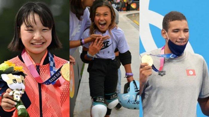 5 ATLET Muda di Olimpiade Tokyo 2020, Masih Usia Belia Sabet Gelar Juara Dunia Kalahkan Dewasa