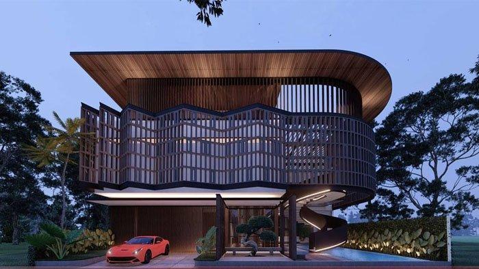 Desain rumah baru Ayu Ting Ting berkonsep kontemporer