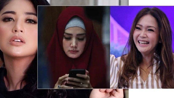 REAKSI Bingung Maia Estianty, Dewi Perssik Tiba-tiba Nyanyi Lagu Mulan Jameela 'Ga Pernah Denger?'