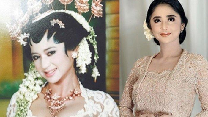 Dewi Perssik tunjukkan foto pernikahannya