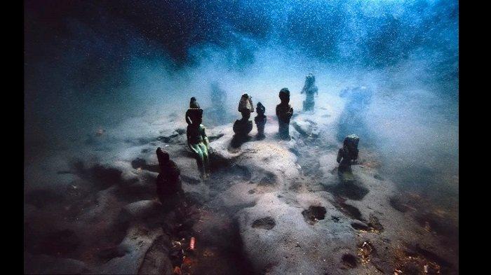 LEGENDA ATLANTIS - Simak 5 Kota Tua Dunia yang Tenggelam di Dasar Laut, Italia, Mesir, & Yunani Kuno