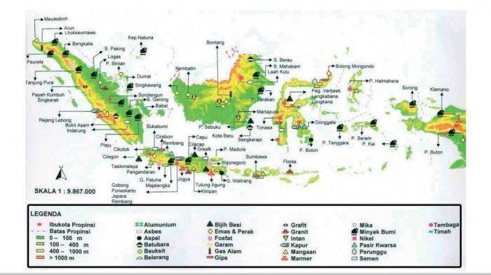 KUNCI JAWABAN Tema 9 Kelas 4 SD Hal 49- 58, Barang Tambang yang Dihasilkan Daerah Tempat Tinggalmu