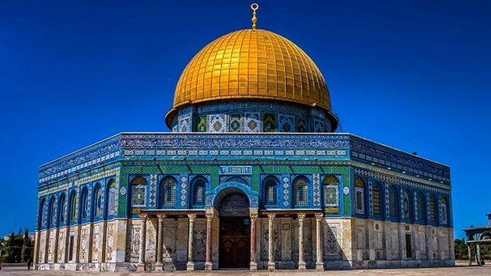 Kini Dibombardir Israel, Intip Megahnya Kubah Batu di Yerusalem, Dianggap Suci Umat Muslim & Yahudi
