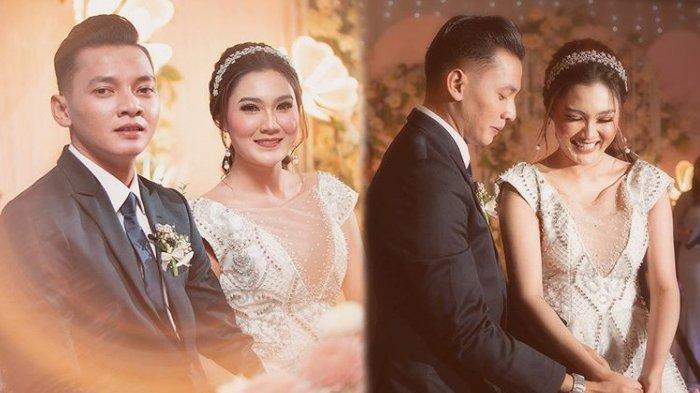 Dory Harsa dan Nella Kharisma saat menikah