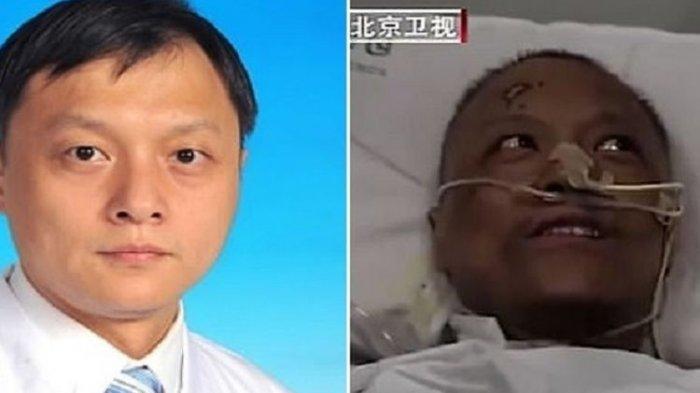 Publik China Murka, Dokter di Wuhan yang Kulitnya Menghitam karena Terjangkit Corona Meninggal Dunia