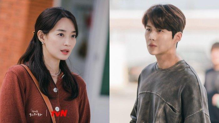 MANISNYA Momen Couple Hometown Cha-Cha-Cha, Kim Seon Ho Beber Tingkah Lucu Shin Min Ah saat Syuting