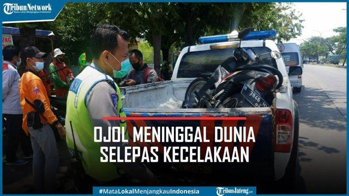 Kecelakaan, Ojol di Semarang Sebut Asma Allah Sebelum Meninggal, Butiran Tasbih Berceceran di Jalan