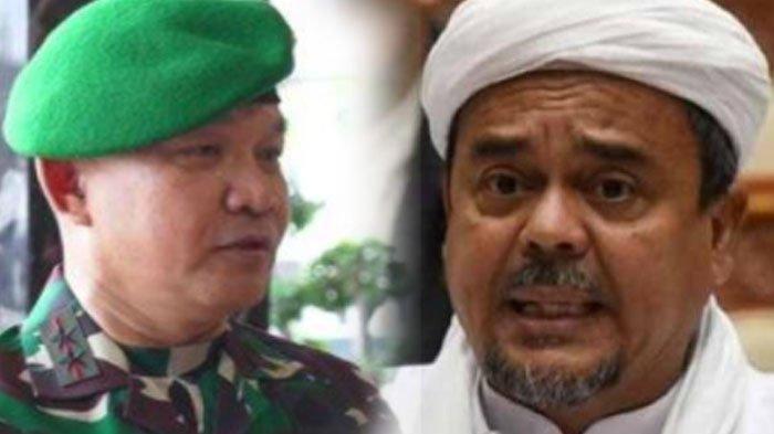 Pangdam Jaya Mayjen Dudung Abdurachman Turunkan Baliho Rizieq Shihab,Ini Reaksi FPI, 'Lucu Juga Ya'