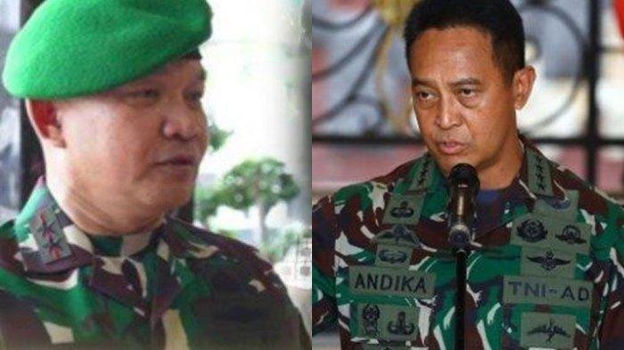 SETELAH Jadi Pangkostrad, Dudung Abdurachman Calon KSAD & Andika Perkasa Calon Kuat Panglima TNI?