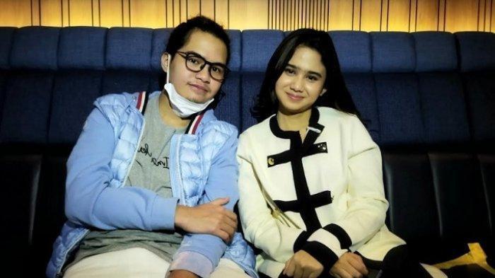 Dul Jaelani dan Tissa Biani ditemui di kawasan Pejaten, Jakarta Selatan, Kamis (20/5/2021) bersama Tissa Biani.