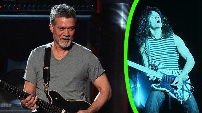 5 Fakta Menarik Eddie Van Halen Semasa Hidup, Blasteran Indonesia hingga Awal Mula Karier Bermusik