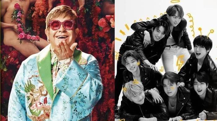 Lagu Baru BTS Permission To Dance Dipuji Oleh Musisi Legendaris Elton John, Beri Reaksi di Twitter