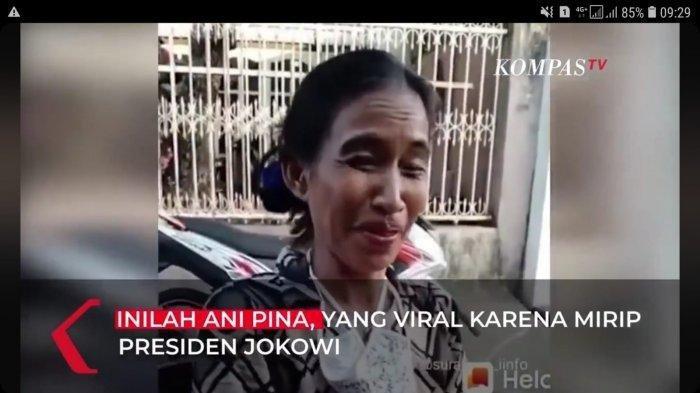 Emak-emak ini viral karena wajahnya mirip Jokowi