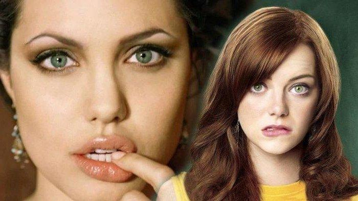 7 Selebriti Dunia dengan Mata Terindah, Intip Pesona Sorot Mata Angelina Jolie hingga Emma Stone