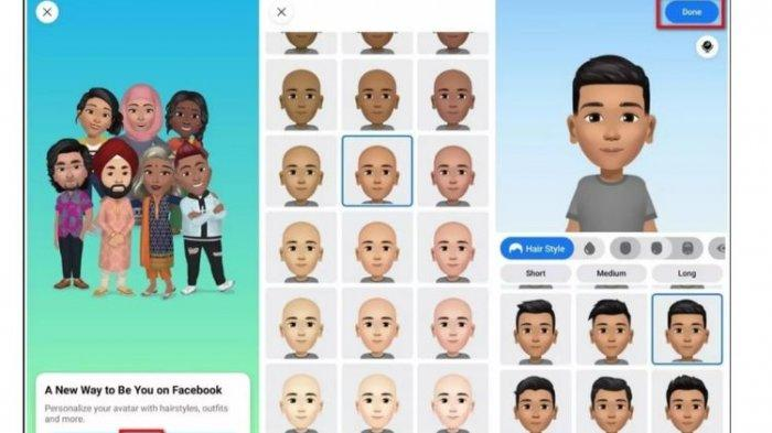 3 Cara Membuat Avatar di Facebook, Lewat Stiker yang Dibagikan di Komentar Hingga Messenger