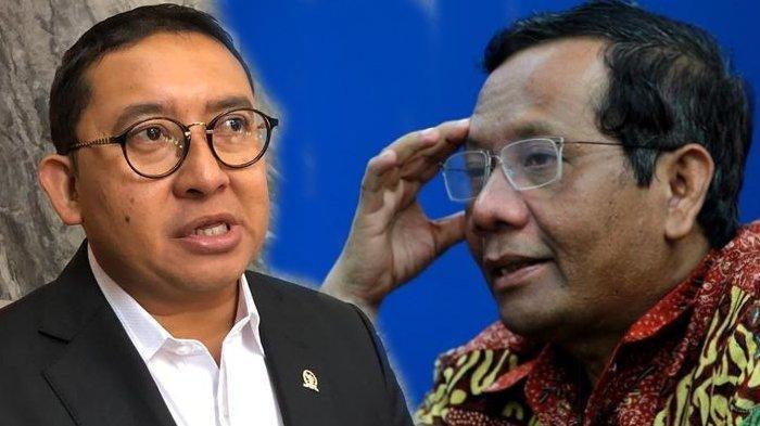 Fadli Zon Anggap RUU HIP Tak Penting, Mahfud MD: yang Usul Itu Lembaga Anda DPR, Termasuk Gerindra