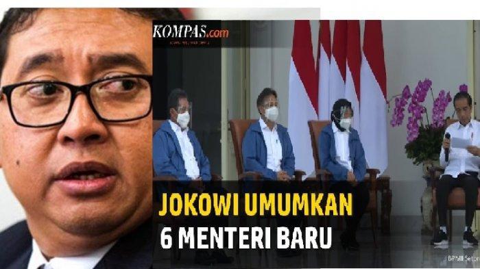 KICAU Fadli Zon Sebut 6 Menteri Baru Jokowi Tak Ada Visi Jadi Sorotan 'Yang Ada Visi Misi Presiden'