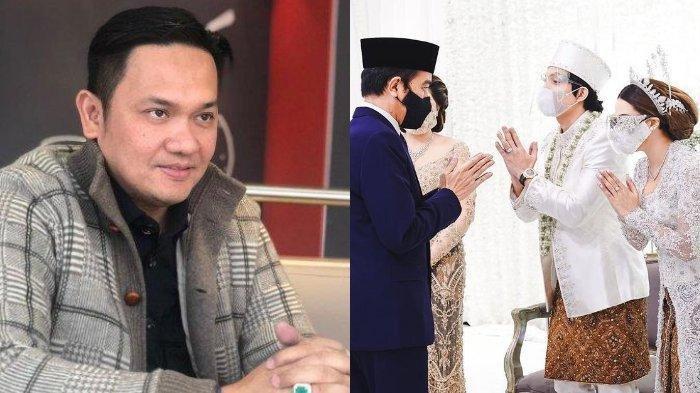 Farhat Abbas Kritik Kehadiran Jokowi hingga Prabowo di Pernikahan Atta-Aurel, Singgung Soal Bisnis