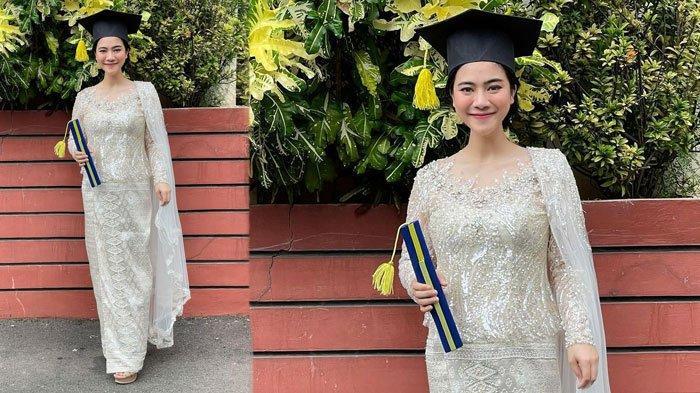 Sukses Raih Cumlaude, Intip Penampilan Felicya Angelista saat Wisuda, Tampil Memesona saat Hamil
