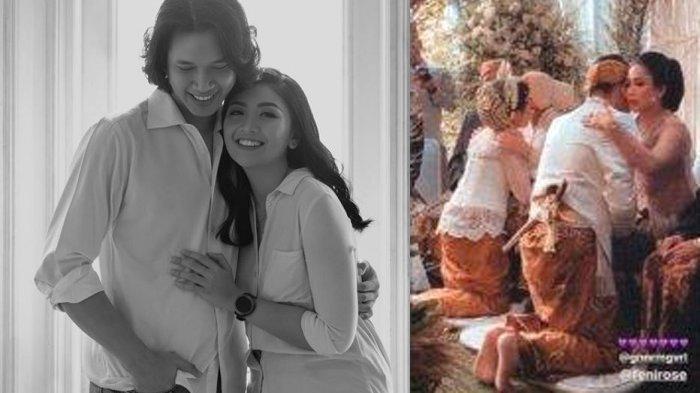 Momen Pernikahan Anak Feni Rose di Tengah Merebaknya Virus Corona, Acara Batal di Gedung