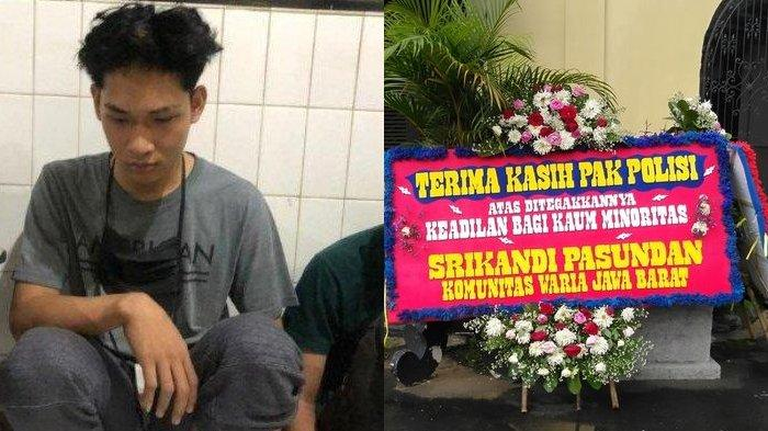 Ungkapan Bahagia Kelompok Waria Jabar Lihat Ferdian Paleka Ditangkap, Sengaja Kirim Karangan Bunga