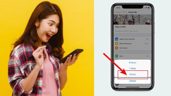 Tutorial Aktivasi Mute Notifikasi Chat WhatsApp Selamanya, Coba Fitur Baru Ini