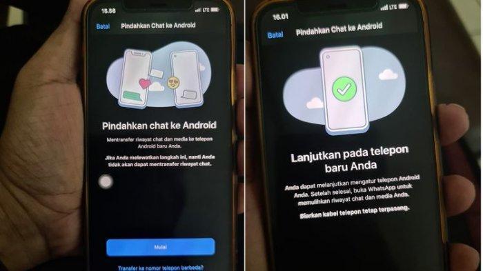 Fitur transfer chat WhatsApp dari iPhone ke Android sudah bisa dicoba di Indonesia, namun masih terbatas.