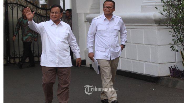 Edhy Prabowo Diduga Korupsi, Mantan Wakil Gerindra : Tamat Sudah Cita-cita Prabowo Jadi Presiden