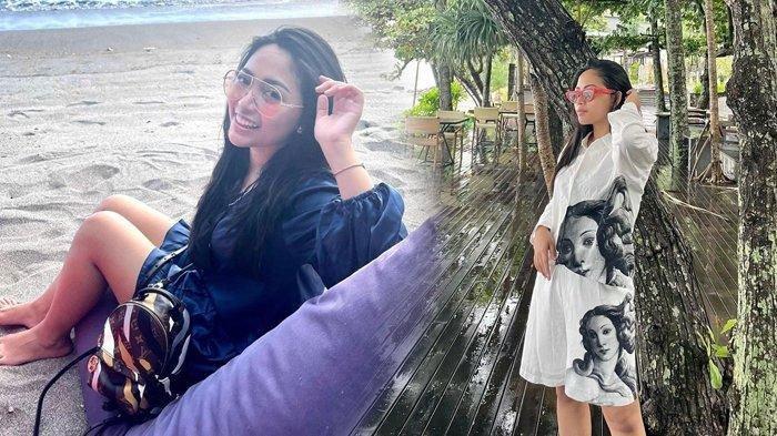 Cerai dari Niko Al Hakim, Rachel Vennya Liburan ke Lombok, Brand Louis Vuitton Jadi Sorotan