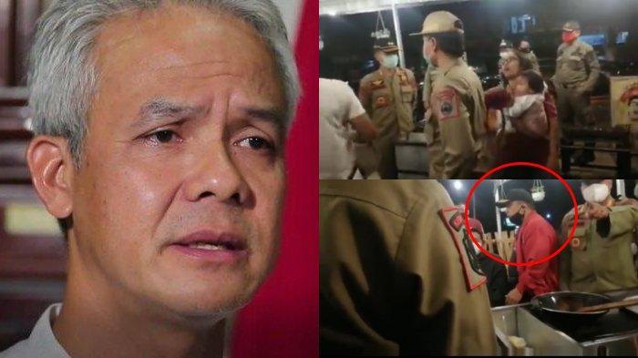 Viral Bupati Sukoharjo Marahi Pedagang Tak Patuhi Jam Operasional PPKM, Ganjar Berikan Solusi
