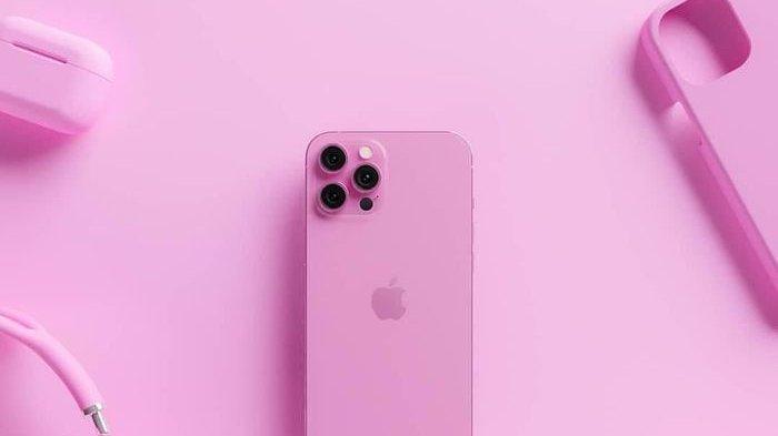 Foto iPhone 13 Pro Max Pink Viral, Unik Serba Pink, Benarkah Asli & Akan Dirilis Tahun 2021 Ini?