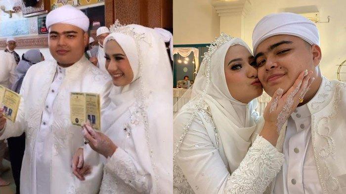 FOTO Perdana Ameer Azzikra setelah Menikah, Pamer Dicium Mesra Nadzira Shafa: Selfie Pertama
