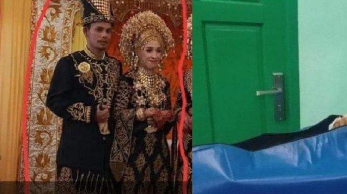 2 Minggu Nikah Pengantin Baru Ditemukan Terbunuh di Kamar, Foto Pernikahan Senyum Pakai Busana Hitam
