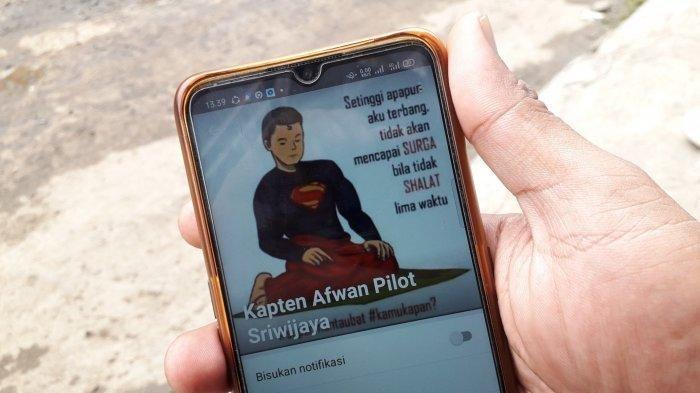 VIRAL Foto Profil WA Pilot Sriwijaya Air: Setinggi Apapun Terbang Tak Mencapai Surga Kalau Tak Salat