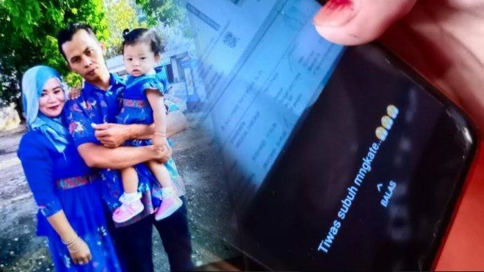 STATUS WA Terakhir Riyanto Korban Sriwijaya Air Asal Sragen Buat Istri Menangis, Sempat Kirim Chat