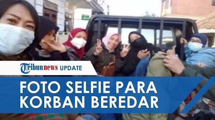 Naik Pick Up Rombongan Ibu-ibu Arisan Tewas Kecelakaan, Beredar Foto Terakhir Selfie Bersama