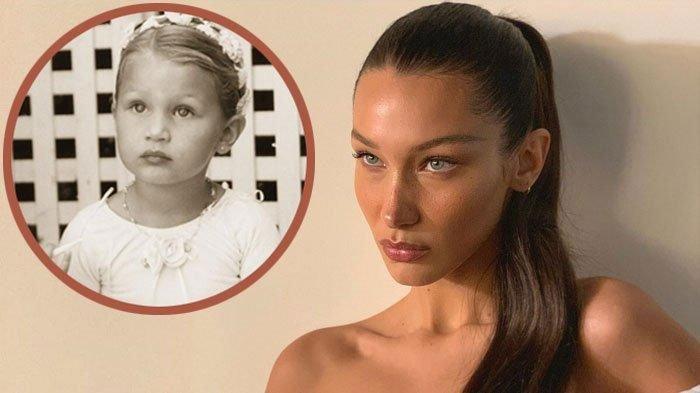 Kini Berusia 24 Tahun, Intip Foto Transformasi Bella Hadid dari Kecil hingga Dewasa