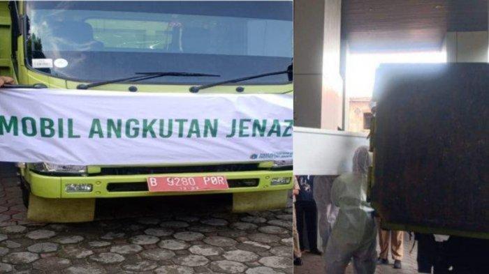Beredar Foto Jenazah Pasien Covid-19 Diangkut Truk, Wagub DKI Bantah Tegas: Semua Diantar Ambulans!