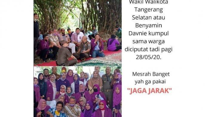POPULER Wakil Wali Kota Tangsel Minta Maaf Setelah Fotonya Langgar Protokol Kesehatan Viral