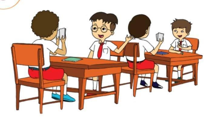 KUNCI JAWABAN Tema 3 Kelas 2 SD Subtema 2 Hal 64-66, Bermain Tebak-tebakan dengan Kartu Uang