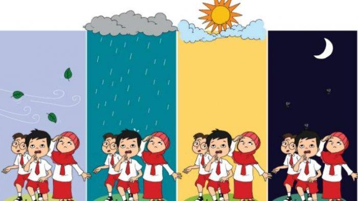 KUNCI JAWABAN Tema 4 Kelas 3 SD Subtema 2 Hal 10-12, Sebutkan Hak & Kewajiban dalam Berpakaian